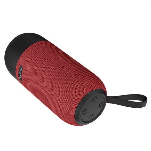 BlitzWolf® AIRAUX AA-WM1 10W bezdrôtová bluetooth 5.0 reproduktorová duálna pasívna membrána TWS Stereo TF karta U diskový reproduktor s mikrofónom - čierny