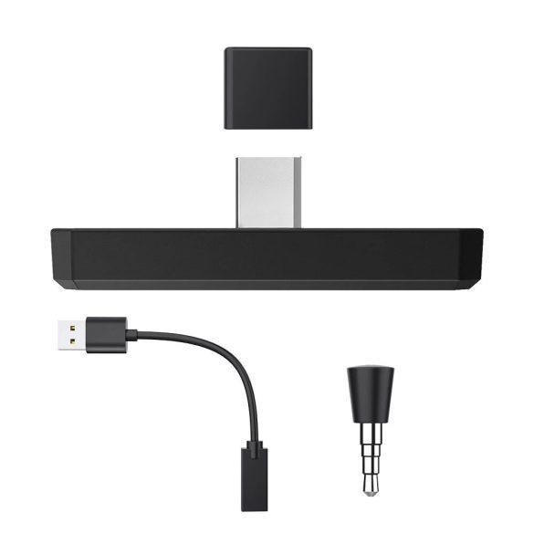 BlitzWolf® AirAux AA-BT2 - USB typ C - hudobný vysielač Bluetooth 5.0 pre PC a Sony PS