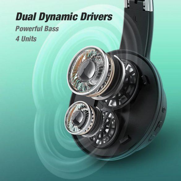 BlitzWolf® AirAux AA-ER3 - Slúchadlá Dual Dynamic Driver - dlhá výdrž batérie, zvýraznenie basov
