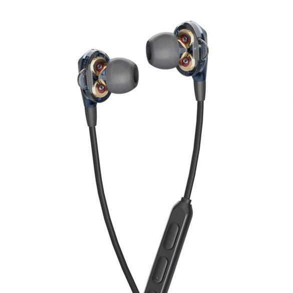 BlitzWolf Airaux AA-HE2 - dvojité dynamické drôtové slúchadlá, 3,5 Jack, hlboké basy