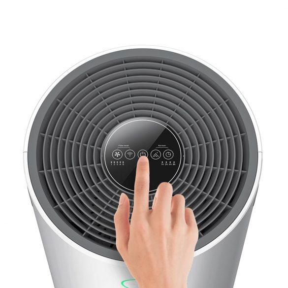 Inteligentný aniónový čistič vzduchu BlitzWolf®BW-AP2 - 500 m³ za hodinu, filter 3 v 1, tichá prevádzka