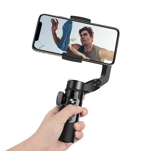 BlitzWolf® BW-BS14 bluetooth selfie stick s 3-osovým stabilizátorom závitu