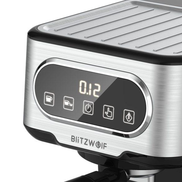 Espresso kávovar BlitzWolf® BW-CMM2 - 20 bar, 1 100 W, dotykové tlačidlá