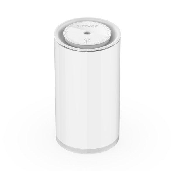 Ultrazvukový difúzor BlitzWolf®BW-Fun2 - 400 ml, 10 hodín výdrže batérie, biele svetlo