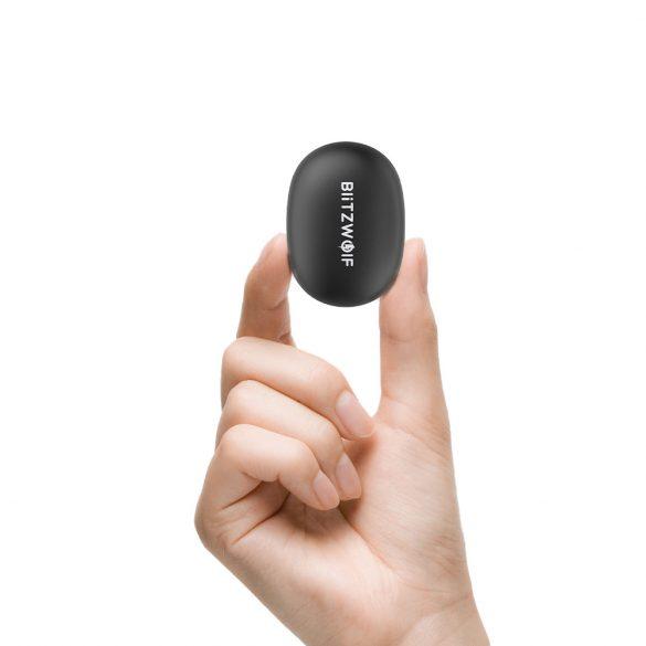 Blitzwolf BW-FYE5s - Bezdrôtové slúchadlá s mikrofónom, True Wireless štuple, uzatvorená konštrukcia, Bluetooth, prijímanie hovorov, prepínanie skladieb, hlasový asistent, certifikácia IPX5