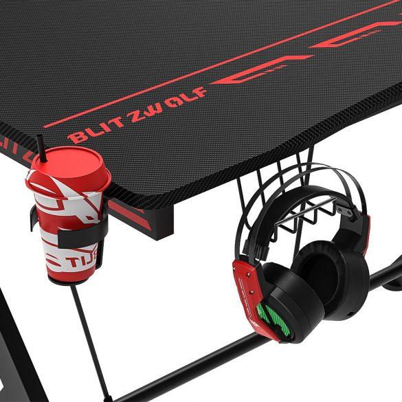 BlitzWolf BW-GD1 Gaming Desk, Herný stôl - nosnosť 75kg, výška stola 76 cm, rozmery dosky 109×60cm