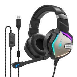 Slúchadlá pre priestorový zvuk 7.1 - BlitzWolf BW-GH1; RGB LED, redukcia šumu, ergonomický dizajn
