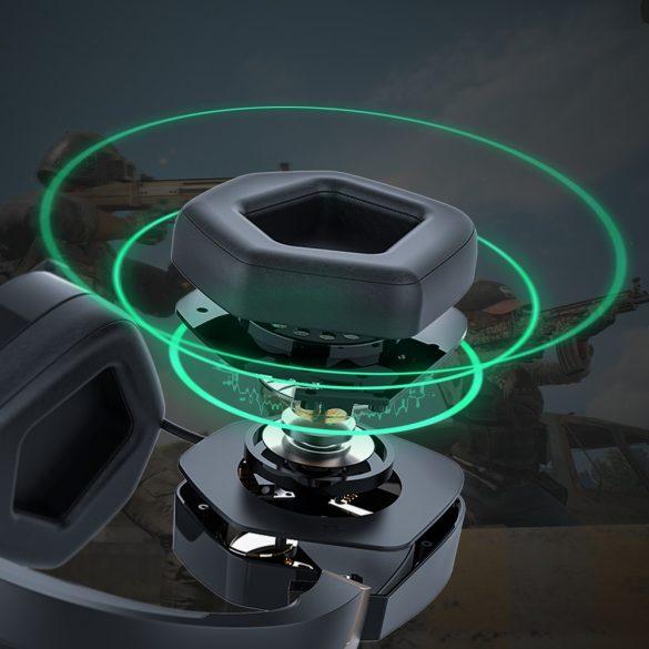 Slúchadlá pre priestorový zvuk 7.1 - BlitzWolf BW-GH2; RGB LED, redukcia šumu, ergonomický dizajn