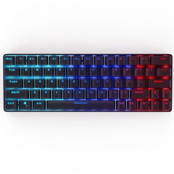 Mechanical Gaming Keyboard BlitzWolf BW-KB1 - osvetlenie RGB LED, káblové a bezdrôtové, IPX4 - čierna