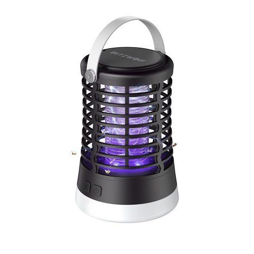 BlitzWolf®BW-MLT1 - Vonkajšia UV lampa proti komárom s batériou, vodotesná IP66
