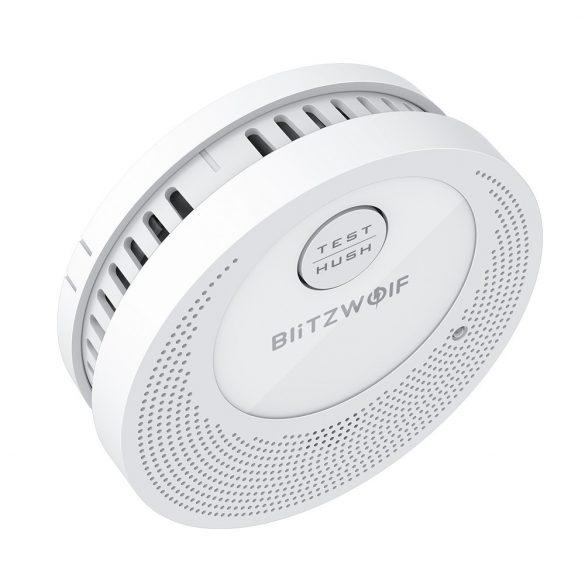 Samostatný detektor dymu Blitzwolf® BW-OS1: výdrž batérie 3 roky, alarm ≥ 85 dB