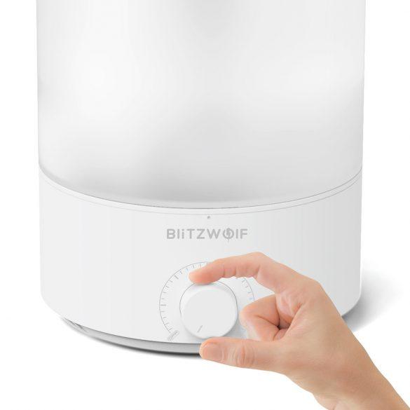 BlitzWolf®BW-SH2 - Inteligentný rozptyľovač arómy - ovládanie aplikácií, farebné svetlo, hlasové ovládanie