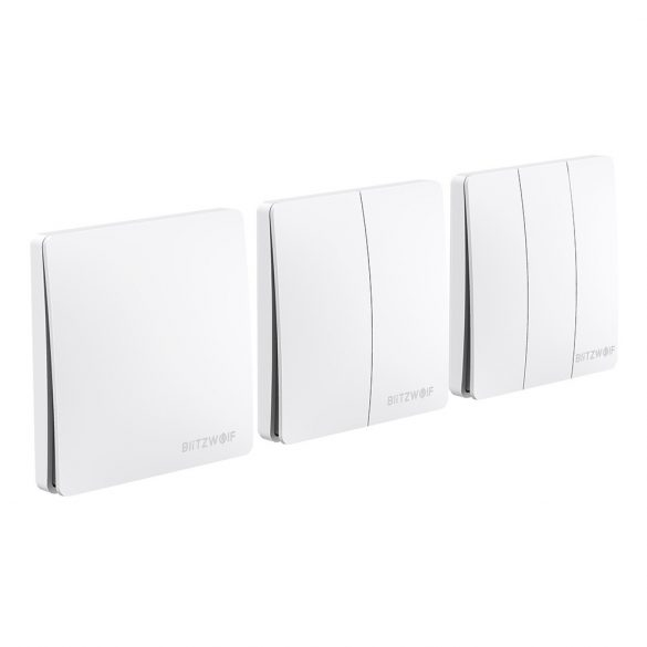 Smart Wall Switch - BlitzWolf® BW-SS2 can integrate with Amazon Echo, Google Home and IFTTT.