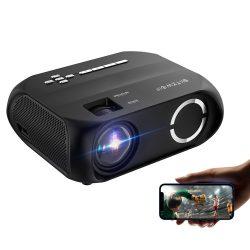 BlitzWolf® BW-VP11 - 720P, 6000 Lux - Projektor domáceho kina s bezdrôtovým pripojením + podpora USB so zabudovaným reproduktorom