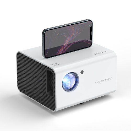 BlitzWolf® BW -VP14 - 1080P, 6000 lúmenov - projektor domáceho kina. Pripojenie WiFi, korekcia lichobežníka, digitálny zoom, vstavaný reproduktor