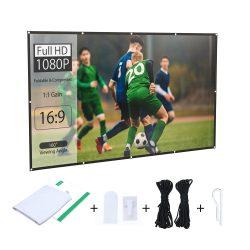Prenosná projekčná obrazovka BlitzWolf® BW-VS2 pre 120 palcovú projekciu 16: 9
