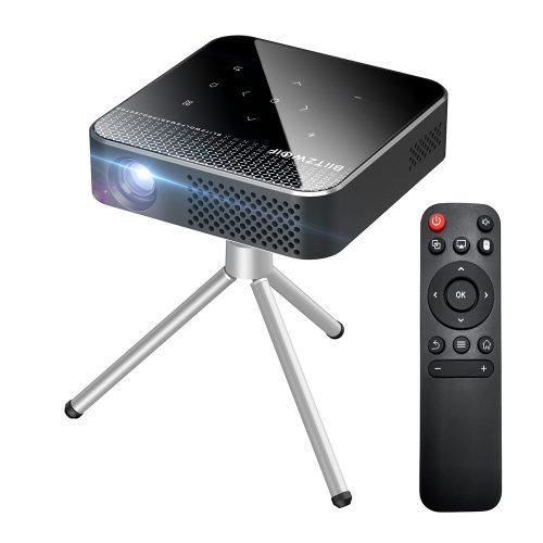 Mini projektor pre domáce kino BlitzWolf® BW-VT1 - Android OS, 854x480P, technológia DLP, živé farby