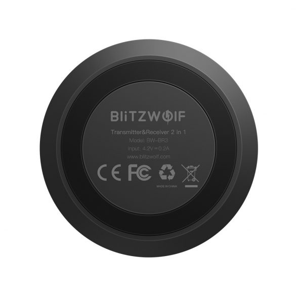Blitzwolf® BW-BR3 Adaptér ako prijímač aj vysielač Bluetooth 4.1