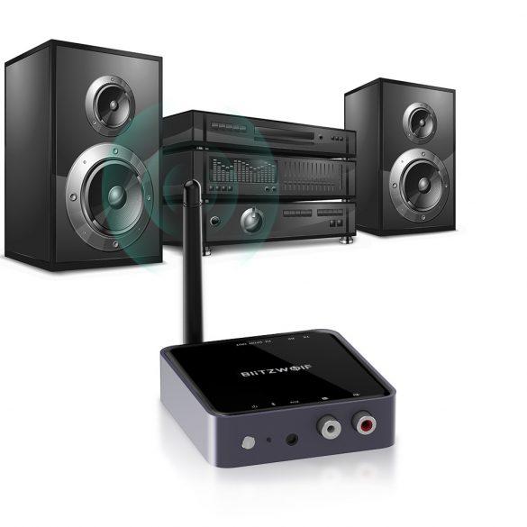 Blitzwolf® BW-BR4 Bluetooth V5.0 aptX HD™ Adaptér ako prijímač aj vysielač