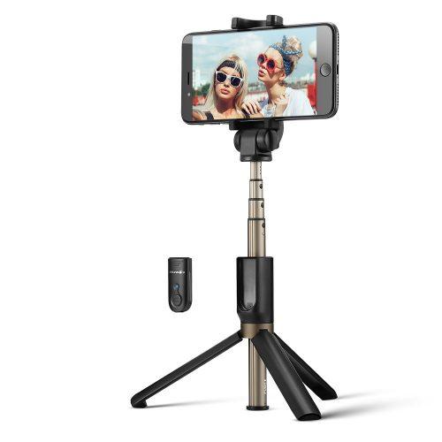 BlitzWolf BW-BS3 ministatív na telefón s diaľkovým ovládaním a selfie tyč v jednom (3v1)