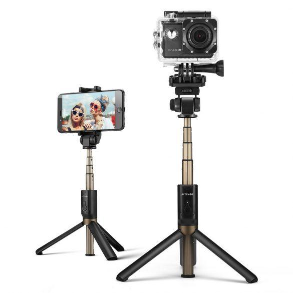 BlitzWolf BW-BS3 sport ministatív na telefón s diaľkovým ovládaním a selfie tyč v jednom (3v1)