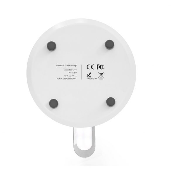 Stolná LED lampa (200lm) s farebnou nohou a batériou RGB - BlitzWolf® BW-LT16