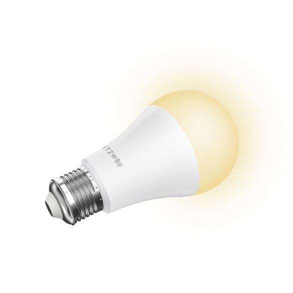 Smart žiarovka - BlitzWolf® BW-LT21, E27, 900lm, 10W, 2700-6500K, ovládanie aplikácií