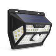 Vonkajšia solárna lampa - BlitzWolf BW-OLT1 s detektorom pohybu, odolný voči vode IP64