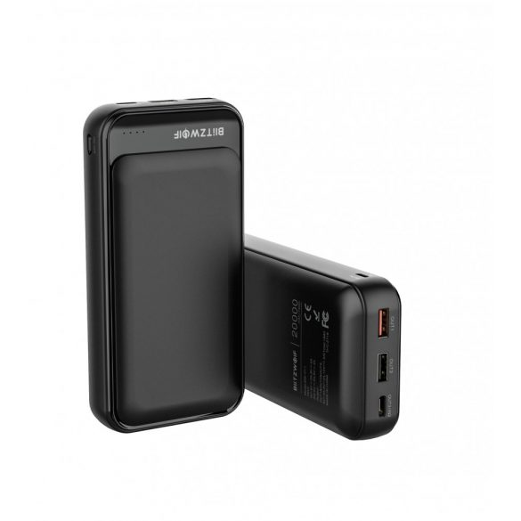 BlitzWolf® BW-P11 / 20000mAh Quick Charge Power Bank - Qualcomm Quick Charge 3.0 for Samsung, iPhone, iPad and More