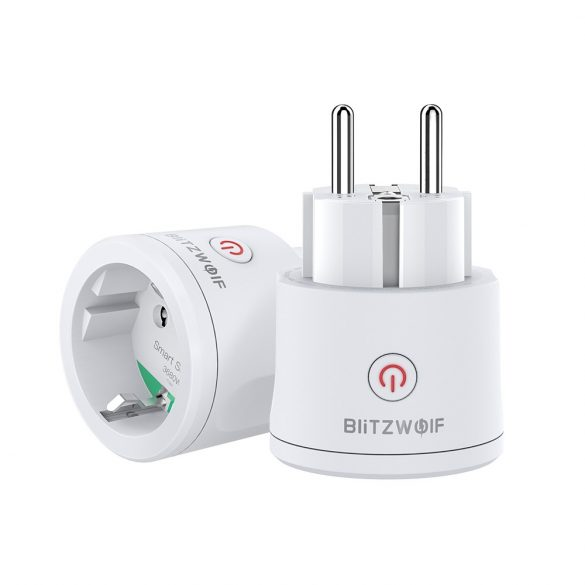 3680W EU WIFI Smart Socket - BlitzWolf® BW-SHP10 Wifi Smart Socket can integrate with Amazon Echo, Google Home and IFTTT.