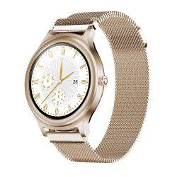 BlitzWolf BW-AH1 gold - dámske inteligentné hodinky s dotykovou obrazovkou - zlato