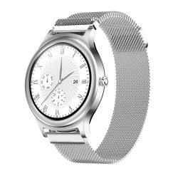 BlitzWolf BW-AH1 silver - dámske inteligentné hodinky s dotykovou obrazovkou - strieborné farby
