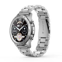 Blitzwolf® BW-HL4 (čierne) bluetooth inteligentné hodinky - kovový remienok, IP67, pripomenutie hovoru a správy, prehrávanie hudby, režim Muti-sport, zdravotné údaje
