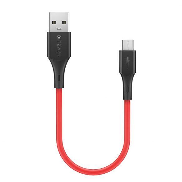 BlitzWolf® BW-MC12 - 30 cm USB Micro kábel