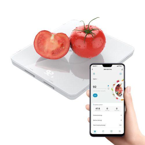 Inteligentná kuchynská váha Blitzwolf® BW-SC4-Pro-Správa údajov o výžive v aplikácii