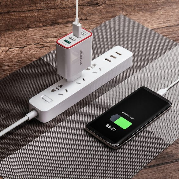 35W 4-porty QC3.0 a Power3S USB rýchla nabíjačka - BlitzWolf® BW-PL5 Unikátny dizajn, viacvrstvová ochrana