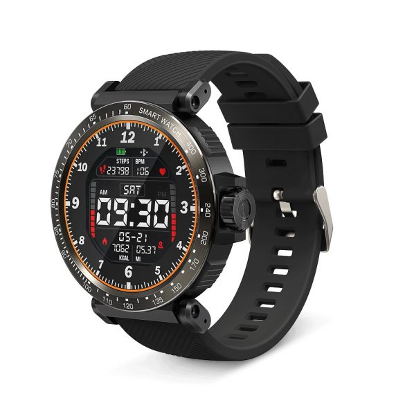 BlitzWolf® BW-AT1 1,3 'IPS 8, športový režim, IP68, viacjazyčný displej, krvný tlak, O2, 15denný pohotovostný režim, inteligentné hodinky