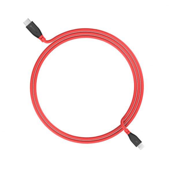 PD3.0 1ft/3ft Type-C to Lightning, BlitzWolf® BW-CL2 PD 3.0 1ft / 0,3m 3ft / 0,91m MFi certifikovaný typ C na bleskozvod s nabíjaním 3A PD, stabilný prenos údajov, dlhá životnosť, kvalitná konštrukcia