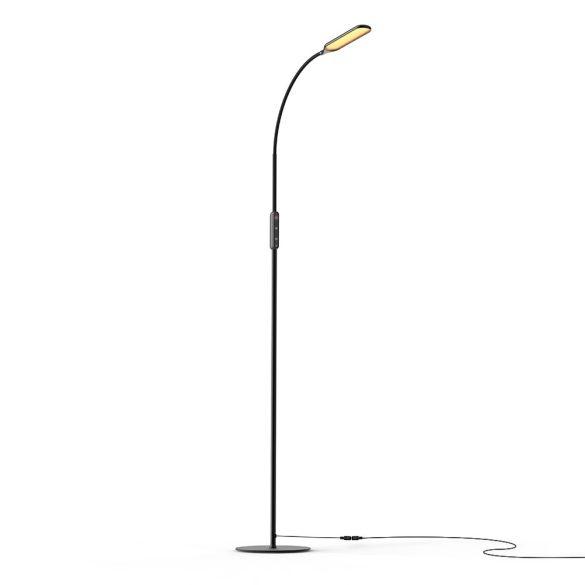 Minimálna konštrukčná stojacia lampa - BlitzWolf® BW-L28 - 600LM, variabilná teplota a jas farby, diaľkové ovládanie