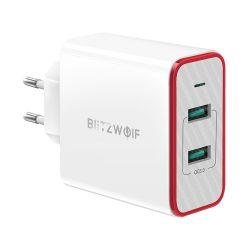 36W 2-porty QC3.0 USB rýchla nabíjačka - BlitzWolf® BW-PL3 Unikátny dizajn, viacvrstvová ochrana