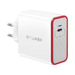 45W 1-portová PD nabíjačka USB C - BlitzWolf® BW-PL4 45W nabíjačka USB type C PD s Power3S, unikátny dizajn, viacvrstvová ochrana
