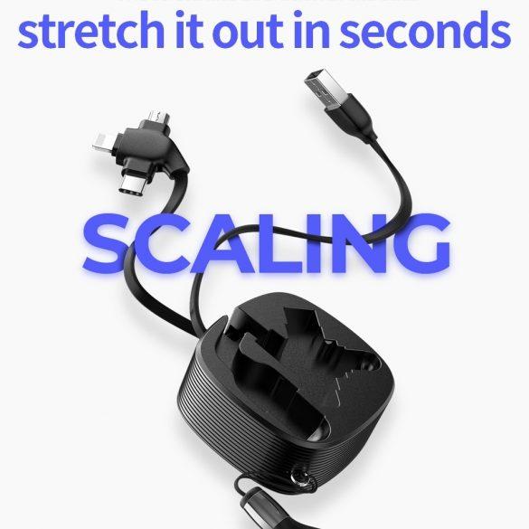 JOYROOM S-M366 3in1: Type C, Apple Lightning, Micro USB kábel