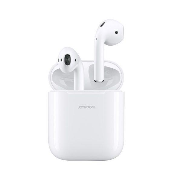 JOYROOM T03S - Bezdrôtové slúchadlá Bluetooth 5.0, Podporované QI (bezdrôtové) nabíjanie, TWS, biely