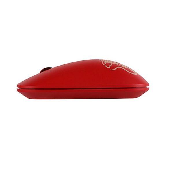 Bezdrôtová myš Lenovo Air Handle - bezdrôtové pripojenie 2,4 GHz, dosah 10 metrov - strieborná