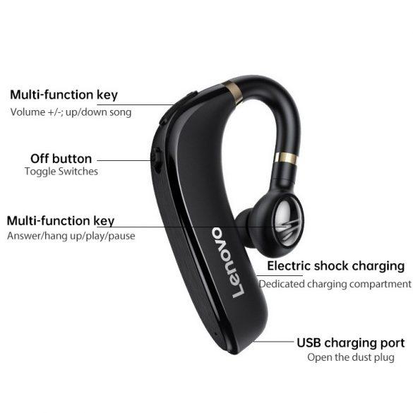 Lenovo HX106 headset – bezdrôtové, náhlavné