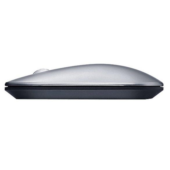 Bezdrôtová myš Lenovo Air2 - Bluetooth + bezdrôtové pripojenie 2,4 GHz, dosah 10 metrov - strieborná