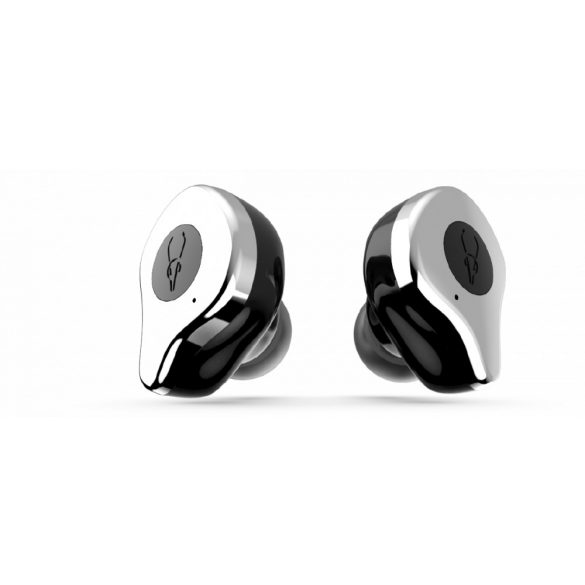 Sabbat E12 hail silver with QI-wireless charging - Bezdrôtové slúchadlá s mikrofónom, True Wireless štuple, uzatvorená konštrukcia, Bluetooth 5.0, certifikácia IPX5