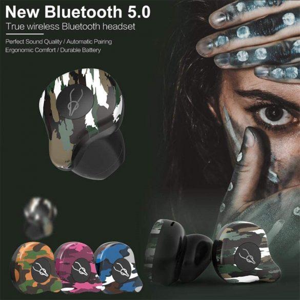 Sabbat X12 Amazon - Bezdrôtové slúchadlá s mikrofónom, True Wireless štuple, uzatvorená konštrukcia, Bluetooth 5.0, prijímanie hovorov, certifikácia IPX3