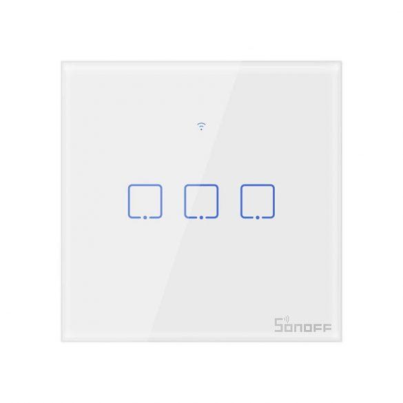 Sonoff® T0 - Smart Wall Switch - Inteligentný nástenný prepínač - je možné ho integrovať s Amazon Echo, Google Home a IFTTT