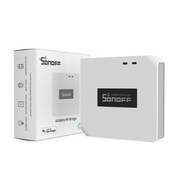 Ovládač Sonoff 433MHz - otváranie brány, ovládanie alarmu, slovom, ovládanie všetkých 433 MHz zariadení s aplikáciou